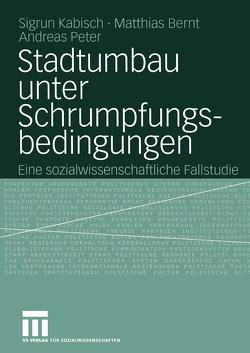 Stadtumbau unter Schrumpfungsbedingungen von Bernt,  Matthias, Kabisch,  Sigrun, Peter,  Andreas