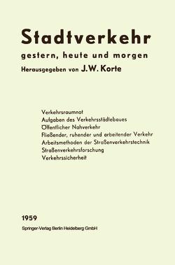 Stadtverkehr von Hollatz,  Josef W., Korte,  Josef Wilhelm
