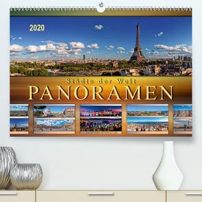 Städte der Welt, Panoramen (Premium, hochwertiger DIN A2 Wandkalender 2020, Kunstdruck in Hochglanz) von Roder,  Peter
