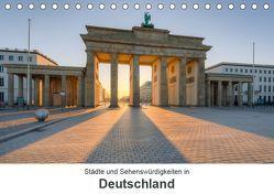 Städte und Sehenswürdigkeiten in Deutschland (Tischkalender 2019 DIN A5 quer) von Valjak,  Michael