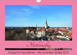 Städtereisen für Freundinnen (Wandkalender 2019 DIN A4 quer) von DieReiseEule