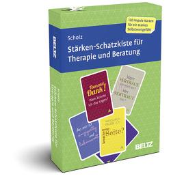 Stärken-Schatzkiste für Therapie und Beratung von Scholz,  Falk