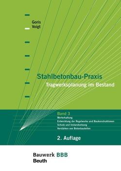 Stahlbetonbau-Praxis – Tragwerksplanung im Bestand von Goris,  Alfons, Voigt,  Jana