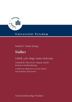 Stalker von Franz,  Norbert P., Rymarowicz,  Stephanie, Safarov,  Boris