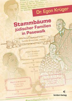 Stammbäume jüdischer Familien in Pasewalk von Krüger,  Egon