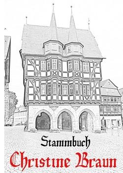 Stammbuch von Christine Braun von Braun,  Hans-Georg