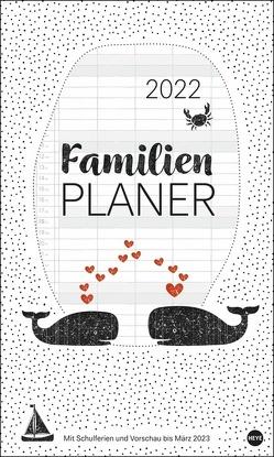 Stamp Art Familienplaner XL Kalender 2022 von Heye