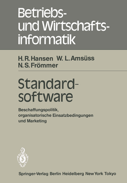 Standardsoftware von Amsüss,  W. L., Frömmer,  N. S., Hansen,  H.R.