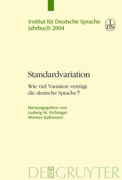 Standardvariation von Eichinger,  Ludwig, Kallmeyer,  Werner