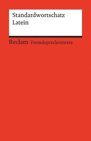 Standardwortschatz Latein von Mader,  Michael, Siemer,  Joanna