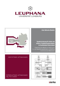 Standortsicherung für kleine und mittlere Produktionsunternehmen im Hochlohnland Deutschland von Deharde-Beduhn,  Inke