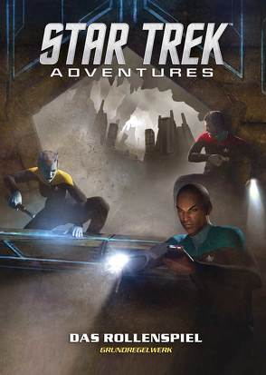 Star Trek Adventures – Grundregelwerk von Chapman,  Dave, Dowdell,  Nathan, Webb,  Sam