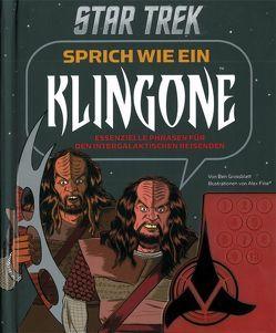 Star Trek – Sprich wie ein Klingone, Buch mit Soundkonsole von Fine,  Alex, Grossblatt,  Ben