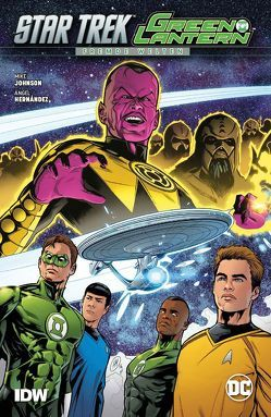 Star Trek/Green Lantern: Fremde Welten von Hernandez,  Angel, Johnson,  Mike, Pannor,  Stefan
