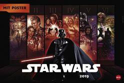 Star Wars Broschur XL – Kalender 2019 von Heye