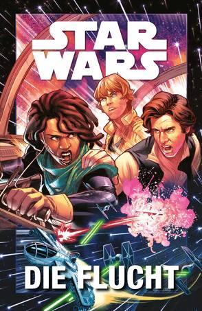 Star Wars Comics: Die Flucht von Boccardo,  Andrea, Gillen,  Kieron, Unzueta,  Angel, Wieland,  Matthias