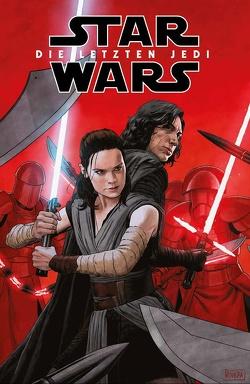 Star Wars Comics: Die letzten Jedi von Aardvark,  Justin, Spicer,  Mike, Walsh,  Michael, Whitta,  Gary