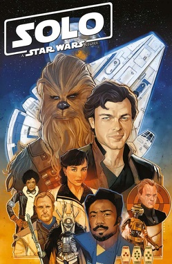 Star Wars Comics: Solo – A Star Wars Story von Aardvark,  Justin, Sliney,  Will, Thompson,  Robbie