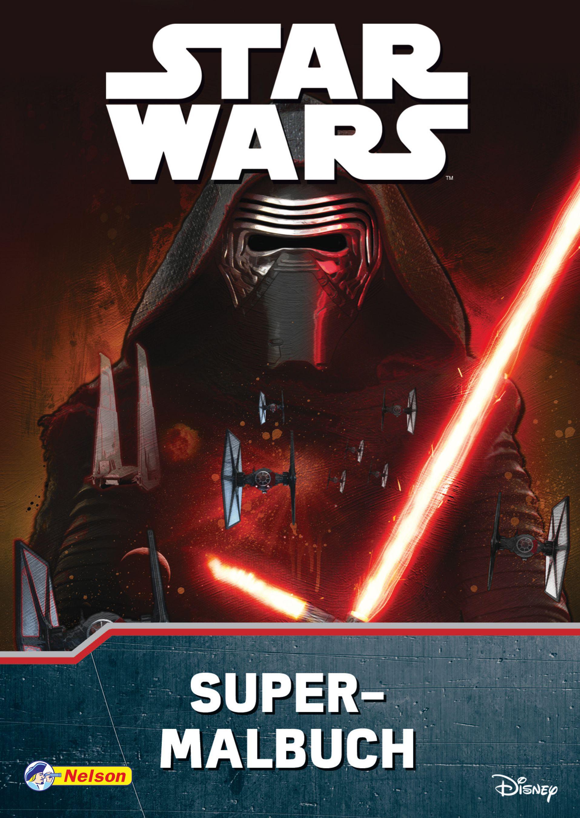 Star Wars - Das Erwachen der Macht: Super-Malbuch von :