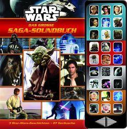Star Wars: Das große Saga-Soundbuch – 3 Geschichten, 27 spannende Geräusche – Hardcover-Buch – Geräuschebuch zu den Star-Wars-Filmen