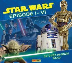 Star Wars Episode I – VI: Die Saga in einem Band von Fry,  Jason