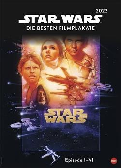 Star Wars Filmplakate Edition Kalender 2022 von Heye