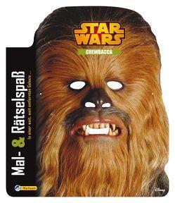 Star Wars: Mal- und Rätselspaß Chewbacca