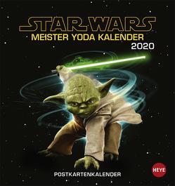 STAR WARS Meister Yodas Weisheiten Postkartenkalender Kalender 2020 von Heye