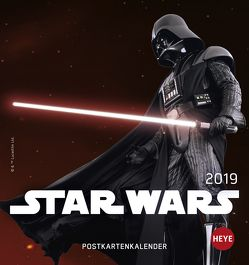 Star Wars Postkartenkalender – Kalender 2019 von Heye
