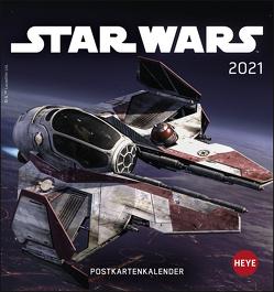 Star Wars Postkartenkalender Kalender 2021 von Heye