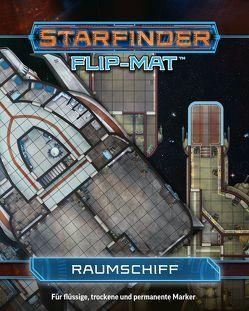 Starfinder Flip-Mat: Raumschiff von Mammoliti,  Damien