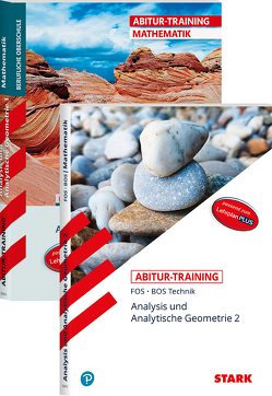 STARK Abitur-Training FOS/BOS – Mathematik Bayern 11. und 12. Klasse Technik, Band 1 + 2 von Schuberth,  Reinhard