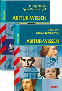 STARK Abitur-Wissen Deutsch – Literaturgeschichte + Interpretationen Epik, Drama, Lyrik
