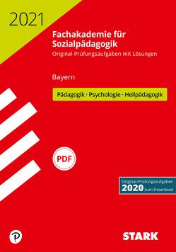 STARK Abschlussprüfung Fachakademie 2021 – Pädagogik, Psychologie, Heilpädagogik – Bayern
