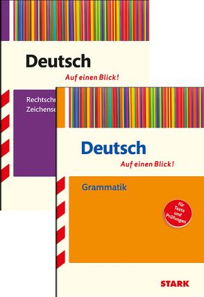 STARK Auf einen Blick! Deutsch – Grammatik + Rechtschreibung