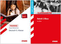 STARK Deutsch 5. Klasse Hauptschule – Klassenarbeiten + Training von Kammer,  Marion von der, Thürer,  Eva