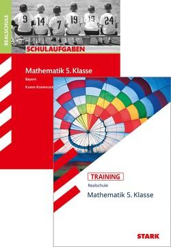 STARK Mathematik 5. Klasse Realschule Bayern – Schulaufgaben + Training von Kompauer,  Karin, Müller,  Dirk
