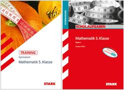 STARK Mathematik Gymnasium 5. Klasse Bayern – Training + Schulaufgaben von Muthsam,  Klaus, Vöst,  Carlo