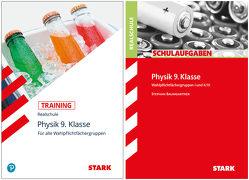 STARK Physik Realschule 9. Klasse – Training + Schulaufgaben von Baumgartner,  Stephan, Schröfl,  Lorenz