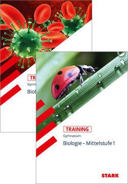 STARK Training Gymnasium- Biologie Mittelstufe Band 1+2 von Rojacher,  Jürgen, Steinhofer,  Harald