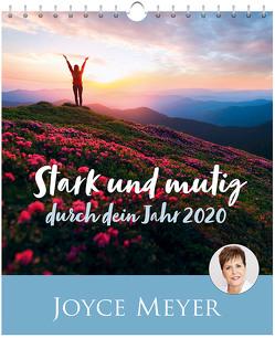 Stark und mutig durch dein Jahr 2020 – Postkartenkalender von Meyer,  Joyce