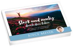 Stark und mutig durch dein Leben – Postkartenset