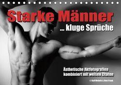 Starke Männer… kluge Sprüche (Tischkalender 2019 DIN A5 quer)