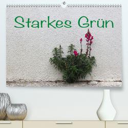 Starkes Grün (Premium, hochwertiger DIN A2 Wandkalender 2021, Kunstdruck in Hochglanz) von Reichenauer,  Maria