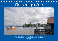 Starnberger See – Auf den Spuren von Ludwig II. und Sisi (Tischkalender 2019 DIN A5 quer) von Franz,  Ingrid