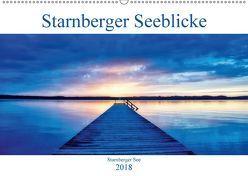 Starnberger Seeblicke (Wandkalender 2018 DIN A2 quer) von Freitag,  Luana