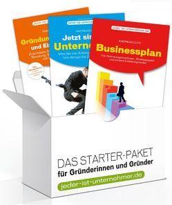 Starter-Paket für Gründerinnen und Gründer von Lutz,  Andreas