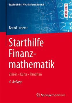 Starthilfe Finanzmathematik von Luderer,  Bernd