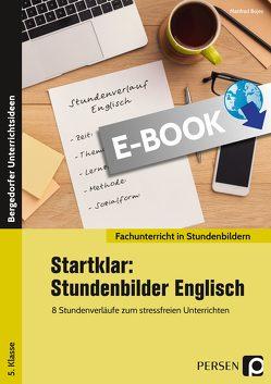 Startklar: 8 Stundenbilder Englisch 5. Klasse von Bojes,  Manfred
