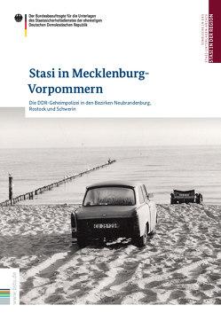Stasi in Mecklenburg-Vorpommern von Catrain,  Elise